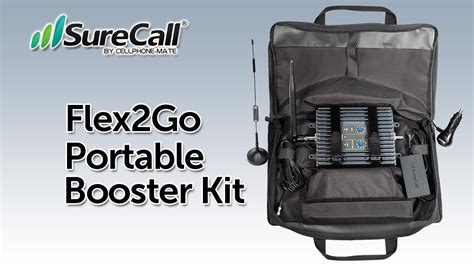 surecall flexgo portable cellular booster kit youtube
