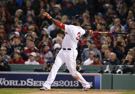 david ortiz swing on baseball big papi was a big man in the big moments