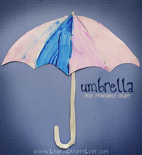 umbrella crafts for printable umbrella craft