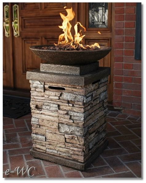 pit column 1000 images about outdoor fireplace on