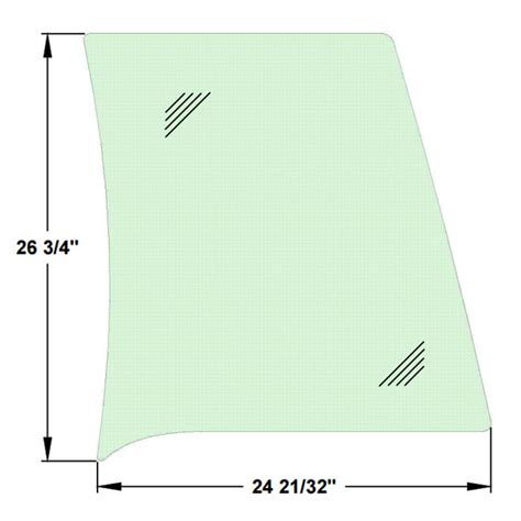 plastic boat windshield replacement 243cc and 223cc everglades acrylic side windshields new