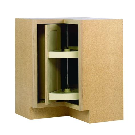 corner base kitchen cabinet 28 375x34 5x16 5 in lazy susan corner base cabinet in