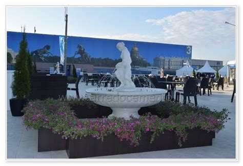 fontana da giardino in cemento fontana da giardino pisa cm150x150x160h manufatto in