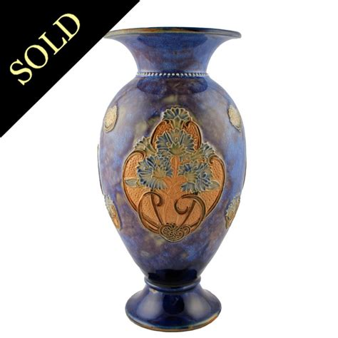 Doulton Vase by Antique Doulton Vase Royal Doulton Vase