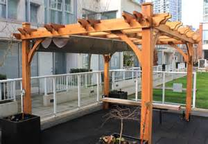 Retractable Roof Pergola Sale by Vancouver Pergola Sale Westcoast Outbuildings