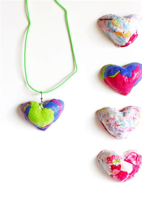 Paper Pulp Craft - paper pulp pendants crafts