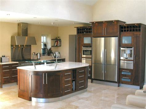 Walnut Kitchen Designs Unique Design Kitchens Modern Framed Walnut Kitchen Decosee