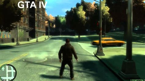 ps3 themes hd gta 5 gta v vs gta iv comparison ps3 720p hd graphics