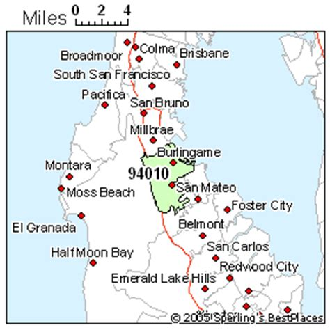 San Mateo County Section 8 by Burlingame Zip 94010 California Economy