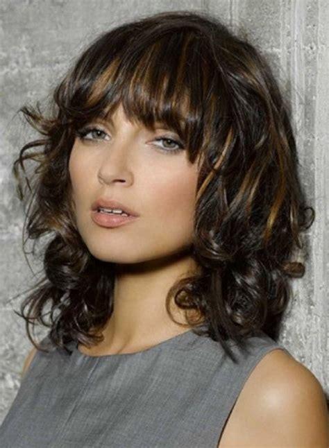 fashionable hairstyles  pretty fringe