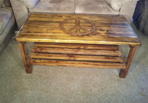 plans for a coffee table out of pallets diy pallet coffee table with symbol sign pallet