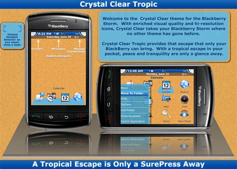 Tema Blackberry temas para blackberry 9500 9530 clear new styles available 151 compatible