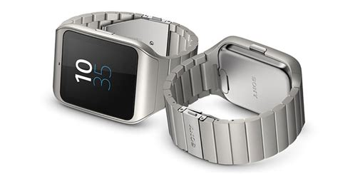 Sony Smartwatch 3 Metal sony smartwatch 3 with a metal band goes on sale in the uk