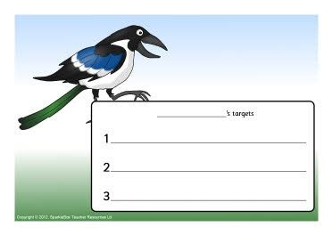 printable magpie targets magpie themed target sheets tulostettavia juttuja