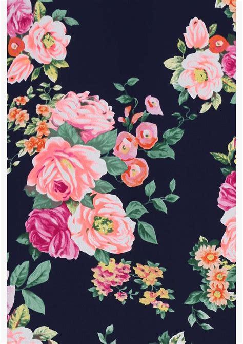 wallpaper flower print garden party dress estas e padr 245 es florais pinterest