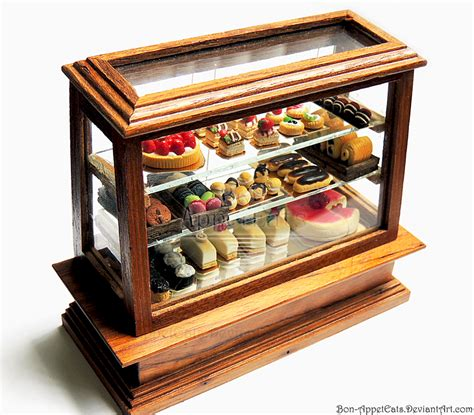 Pastry Display Case Cake Ideas and Designs