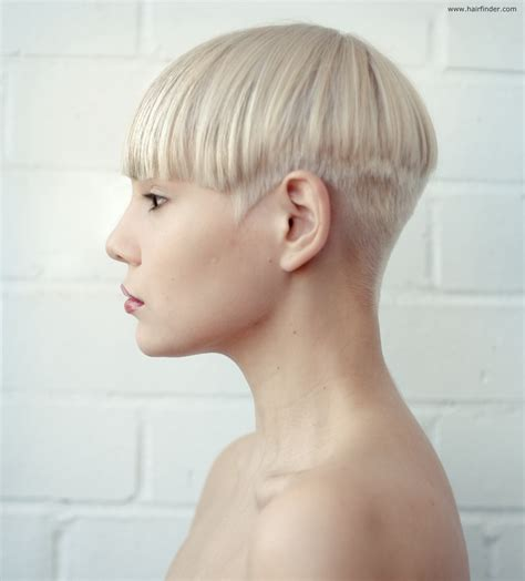 very short nape hairstyles shorn nape cut hairstylegalleries com