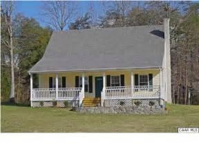 Cape cod covered front porch charlottesville virginia real estate