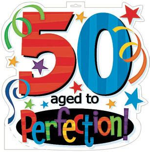 happy 50th birthday free clipart