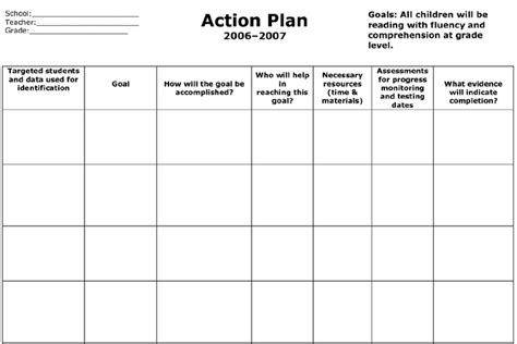 free action plan template excel stenau net