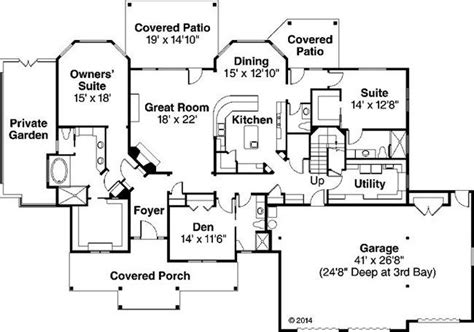 house plans with two master suites one story google search vision home pinterest house