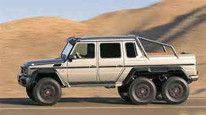 Mercedes 6x6 Truck World Of Auto Enthusiasts Unveiled 2014 Mercedes 6x6 G63amg