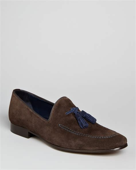 to boot new york suede loafer to boot new york holden suede tassel loafers bloomingdale s