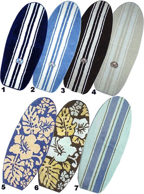 surfboard bathroom rugs island surfboard rugs quot sale quot