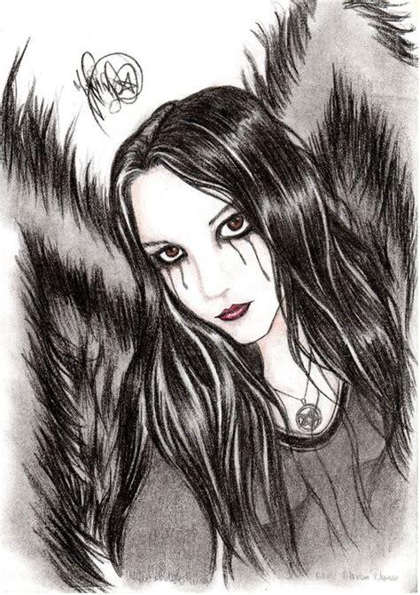 Imagenes Goticas A Lapiz   mi arte gotico para ustedes re subidos nuevos arte