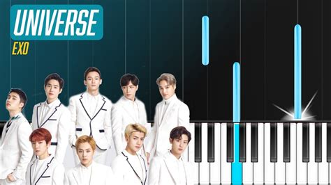 exo universe chord exo quot universe quot piano tutorial chords how to play