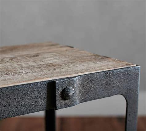 Pottery Barn Reclaimed Wood Coffee Table Clint Reclaimed Wood Coffee Table Pottery Barn
