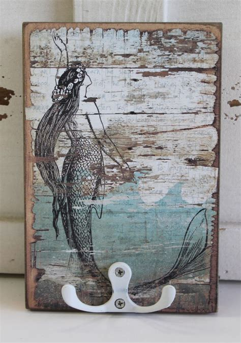 mermaid board for bathrooms 911 best images about shabby beach chic on pinterest