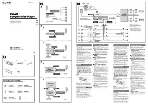 Sony Cdx Gt610ui Wiring Diagram Webtor Me