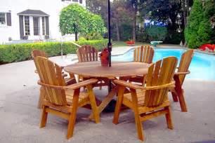 Cedar Patio Furniture Cedar Patio Furniture Table Home