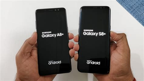 Samsung S8 Jan 2018 samsung galaxy a8 2018 vs samsung s8 speed test