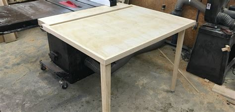 building an out feed table for a table saw wilker do s