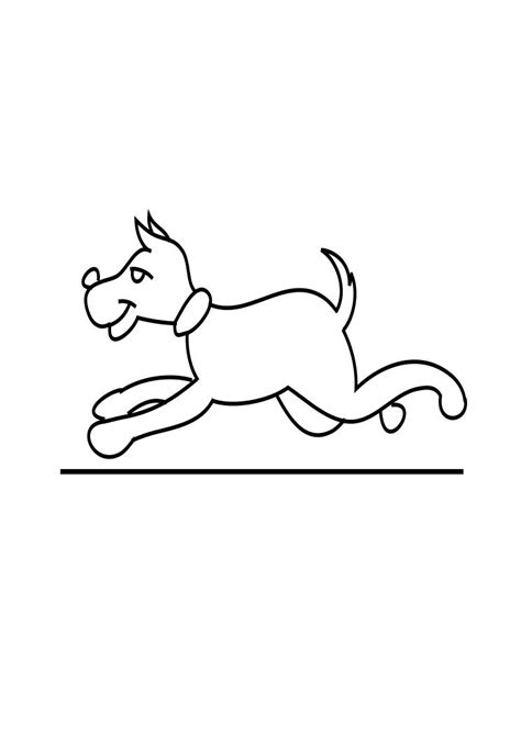 dog running coloring page dog running coloring page child coloring
