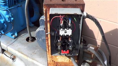multi stage compressors wiring  single phase motor