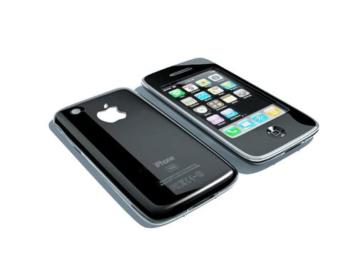 iphone 3g 3d model 3ds max files free modeling 46775 on cadnav