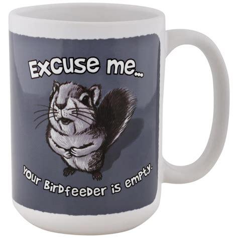 Excuse Me Squirrel Mug : The Animal Rescue Site
