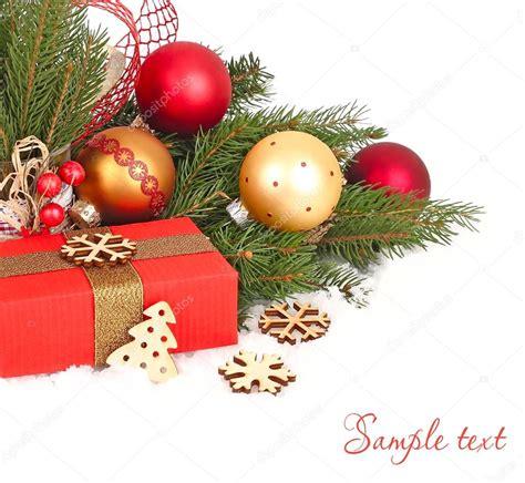 Weihnachten In Einer Berghütte by Weihnachten Komposition Mit Gold Und Rot Weihnachten