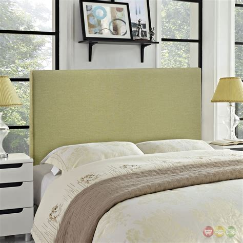 modern upholstered headboard region modern plain upholstered headboard green