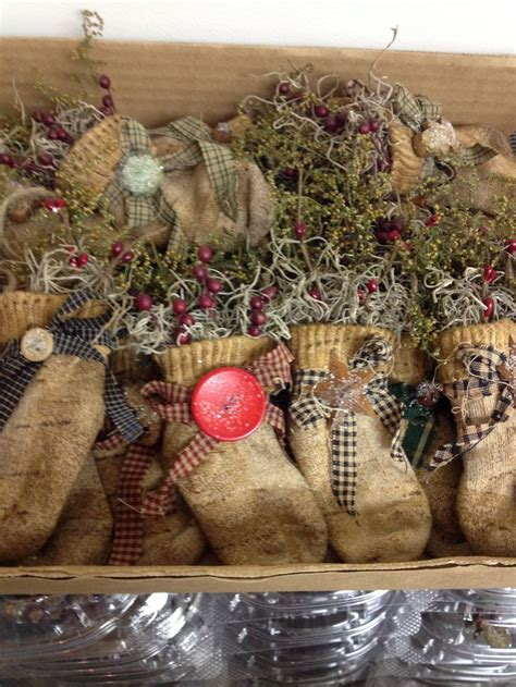 primitive handmade ornaments my style pinterest