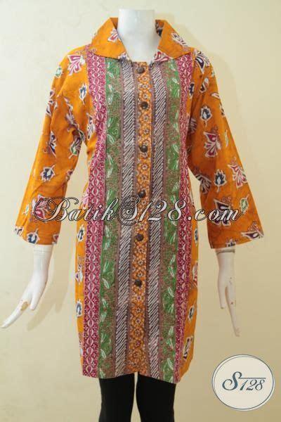 Blus Batik Cap Thalia Payet Jumbo batik blus jumbo motif terkini yang fashionable batik cap tulis untuk cewek gemuk desain