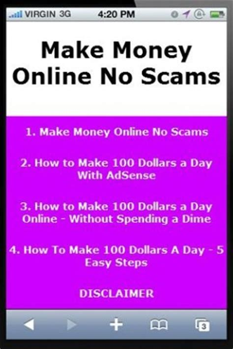 Make Money Online Fast And Free No Scams - make money online no scams android