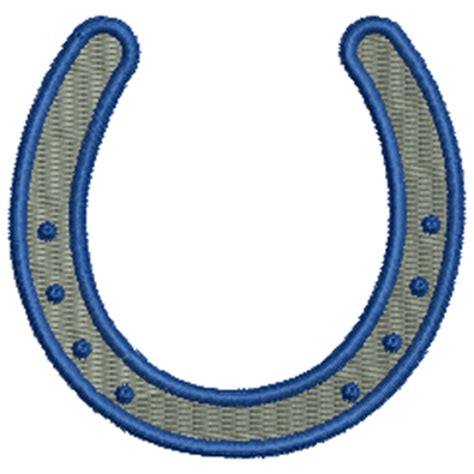 embroidery design horseshoe horse shoe 11671 stock embroidery designs for home and