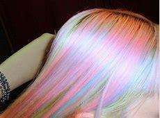 pastel rainbow hair on Tumblr Rainbow Hair Tumblr