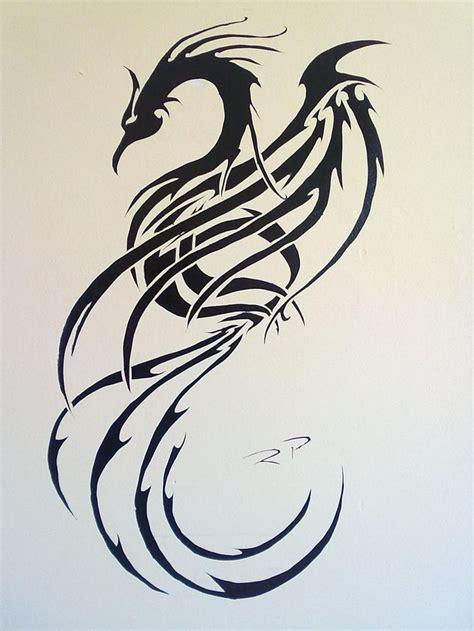tribal x tattoo luzern tribal phoenix tattoo design pinterest