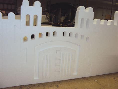 castle styrofoam block home kids polystyrene toy castles fort fun school project ebay