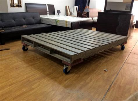 bed on pallets 10 ideas about pallet bed frames